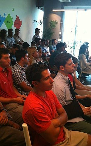 Tamid's aspiring CEOs take in a lecture. (Courtesy of Tamid Israel Investment Group)
