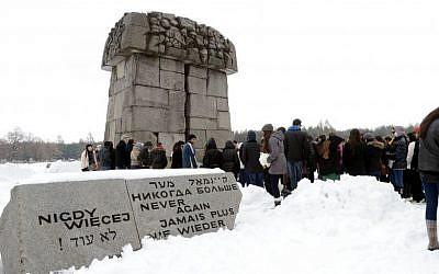 The Treblinka extermination camp. (photo credit: Yossi Zeliger/Flash90)