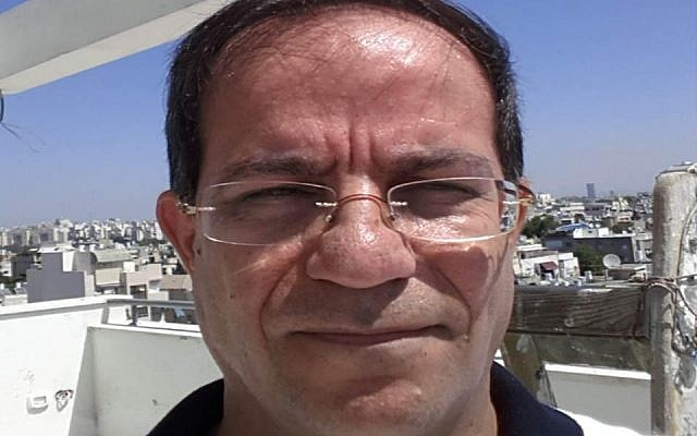 Ali Mansouri, arrested by the Shin Bet on September 11. (photo credit: Courtesy Shin Bet)