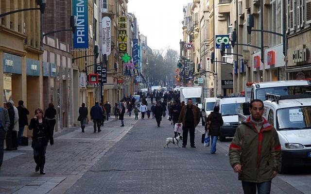 A street in Metz (illustrative photo: CC BY gaku, Flickr)