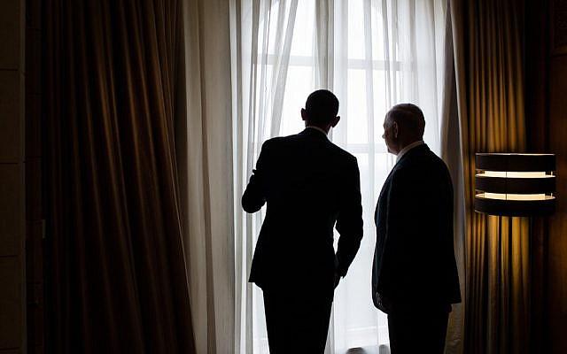 Barack Obama, left, and Benjamin Netanyahu. (photo credit: Pete Souza/The White House/File)