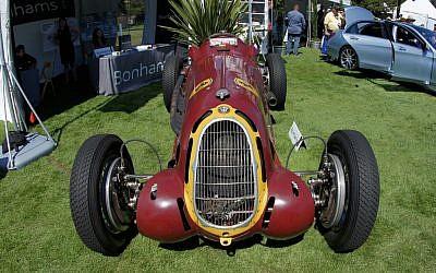 An Alfa Romeo 8C-35 (photo credit: CC BY-SA Ali Java/Flickr)