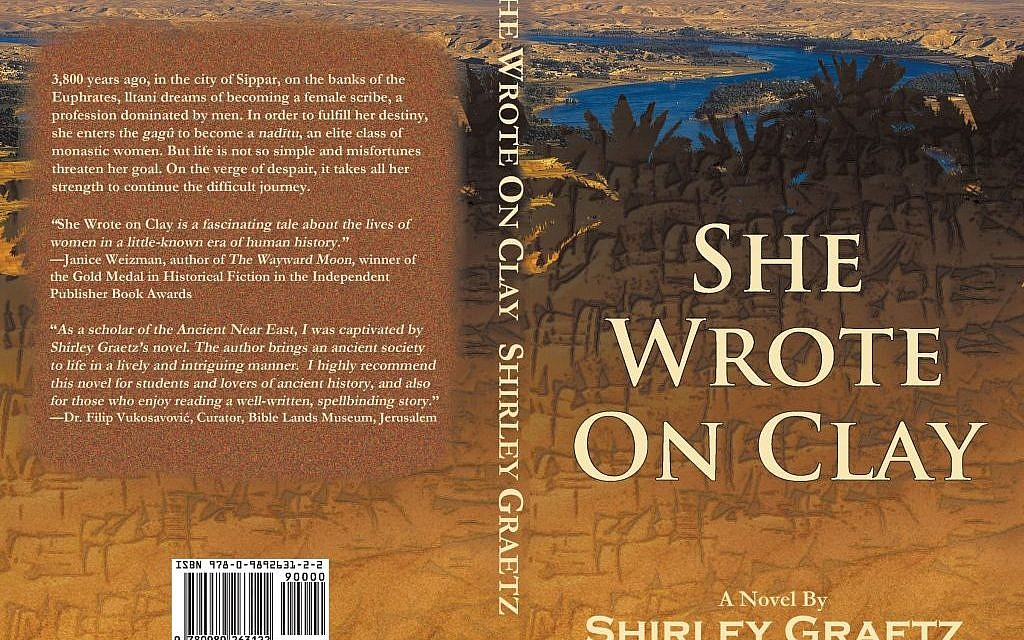 Shirley Graetz's debut novel about life in the Assyrian age (Courtesy Shirley Graetz)