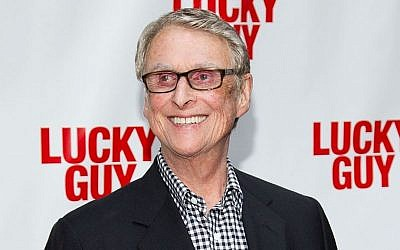 Director Mike Nichols at the 'Lucky Guy' opening night in New York. Nichols is getting his hands dirty in Harold Pinter's 'Betrayal,' a play about a love triangle and the pain of loss that stars real-life couple Rachel Weisz and Daniel Craig. (photo credit: Dario Cantatore/Invision/AP, File)