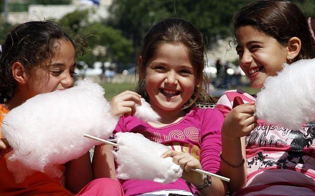Israeli children (photo credit: Daniel Dreifuss/Flash90/File)