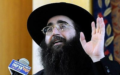 Rabbi Yoshiyahu Pinto (Photo by Yossi Zeliger/Flash90).