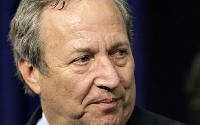 Lawrence Summers (photo credit: AP Photo/J. Scott Applewhite, File)