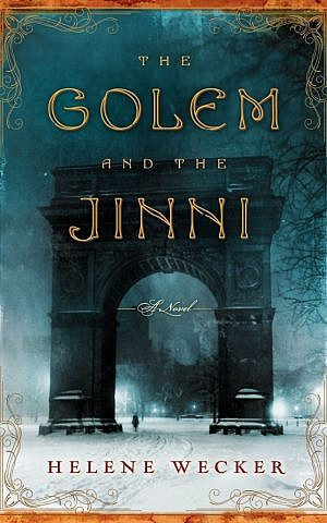 'The Golem and The Jinni' mixes fantasy and folklore in 1899 New York. (photo credit: Courtesy of HarperCollins)