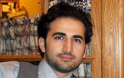 Amir Hekmati, a former U.S. Marine held in Iran over the past two years on accusations of spying for the CIA. (photo credit: Hekmati family/FreeAmir.org)