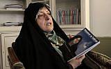 Masoumeh Ebtekar (Vahid Salemi/AP)