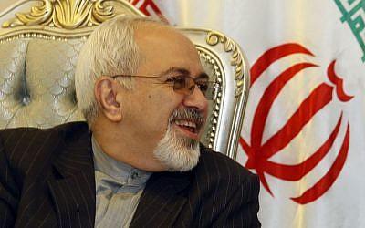 Mohammad Javad Zarif (photo credit: Saad Shalash/AP/File)