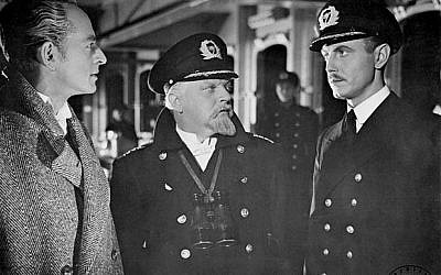 As Hitler opened his air assault against Britain in July of 1940, 'Titanic' producers set out to smear the Brits on celluloid. (photo credit: public domain)