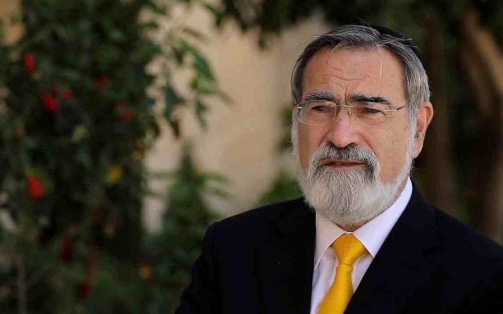 Rabbi Jonathan Sacks. (Courtesy Core18)