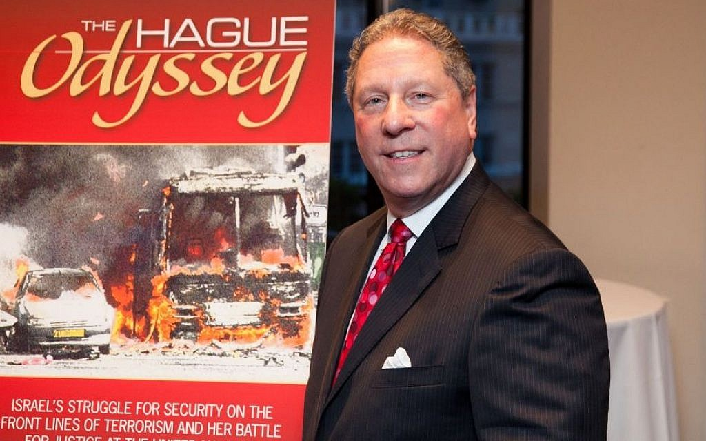 Richard Heideman, author of 'The Hague Odyssey' (photo credit: Courtesy)
