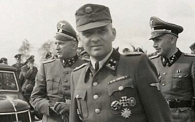 Rudolf Hess, the Kommandant of Auschwitz (photo credit: public domain)