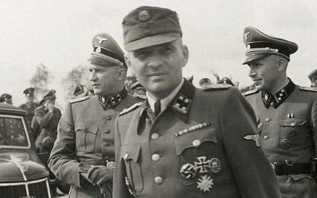 Rudolf Hess, the Kommandant of Auschwitz (photo credit: public domain)