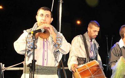 Kurdish Jews celebrate the 2013 Saharane festival in Jerusalem (photo credit: courtesy/Hemi Itz)
