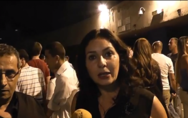 Miri Regev, unwanted at the club. (photo credit: YouTube)