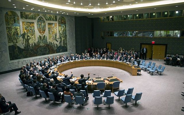 The United Nations Security Council votes on a resolution (illustrative photo: AP/Craig Ruttle)