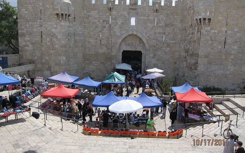 Damascus Gate (photo credit: Shmuel Bar-Am)