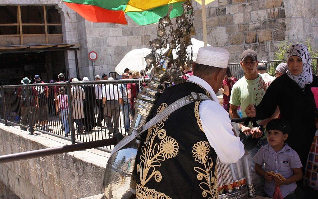 Damascus Gate Tamarindi (photo credit: Shmuel Bar-Am)
