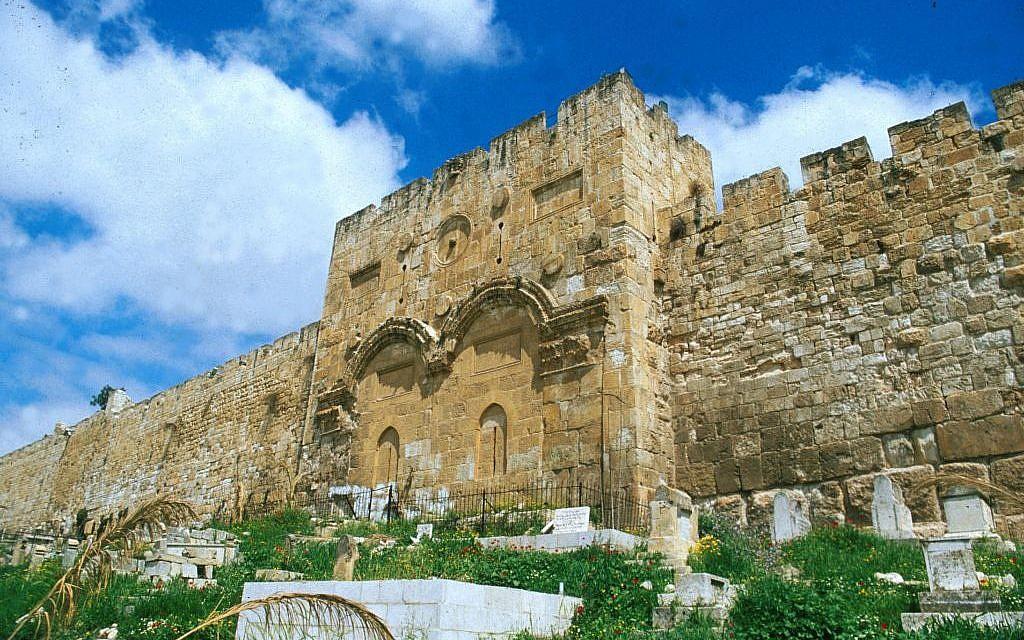 Golden (Mercy) Gate (photo credit: Shmuel Bar-Am)