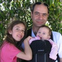 Ilan Levy and family (photo credit: Courtesy the Technion)