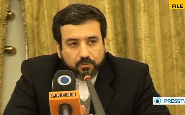 Iranian Deputy Foreign Minister Abbas Araghchi (YouTube/Press TV/File)