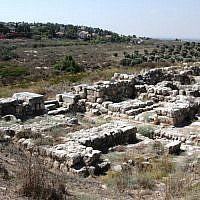 Israelite city (photo credit: Shmuel Bar-Am)