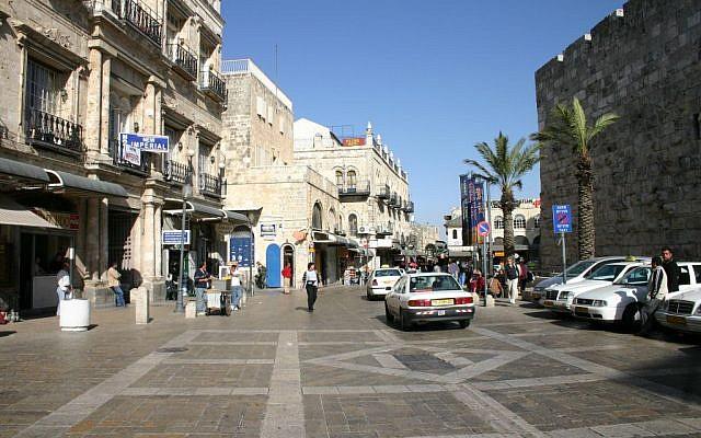 Jaffa Gate, 19th century entrance  (photo credit: Shmuel Bar-Am)