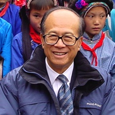 Li Ka Shing (Photo credit: Courtesy LKSF)