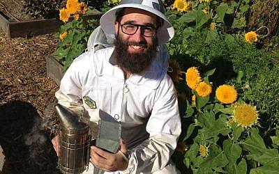 Beekeeper Uri Laio (photo credit: courtesy)