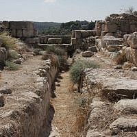 Solomonic gate (photo credit: Shmuel Bar-Am)