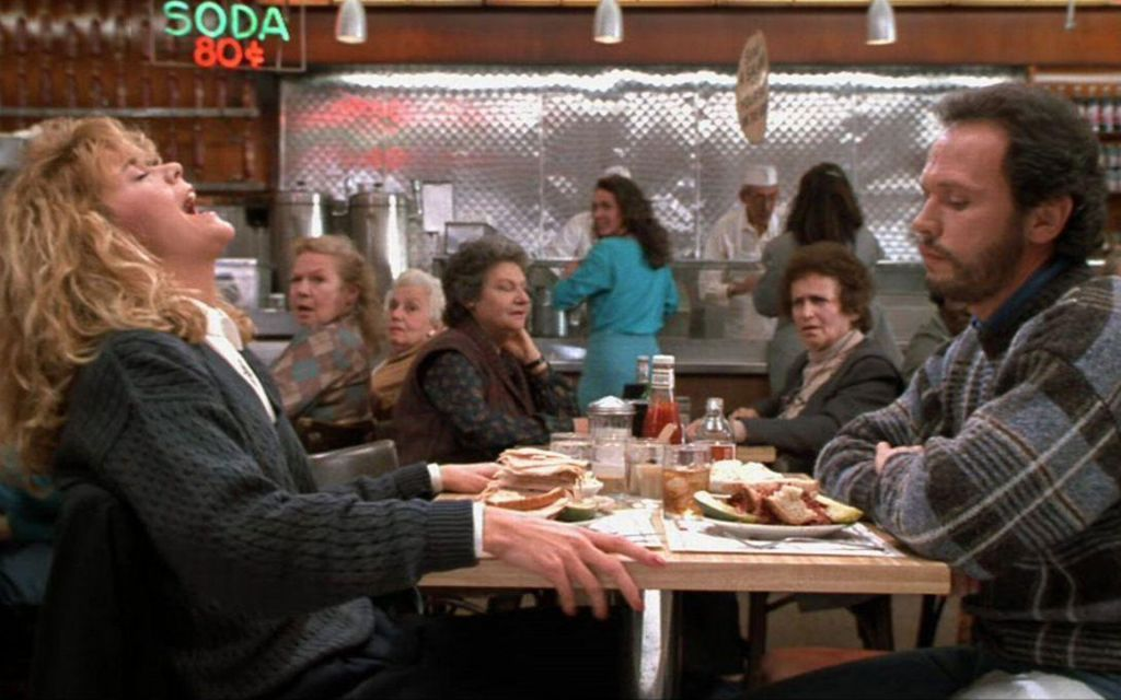 Scene from 'When Harry Met Sally.' (photo credit: courtesy)