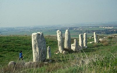 Standing stones (photo credit: Shmuel Bar-Am)