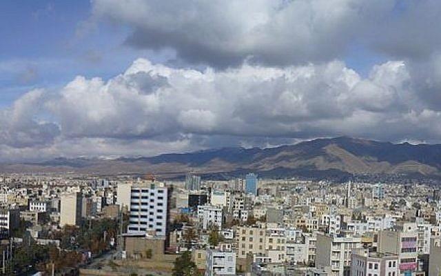 The Iranian town of Karaj (Mojtaba Momeni/Wikimedia Commons)