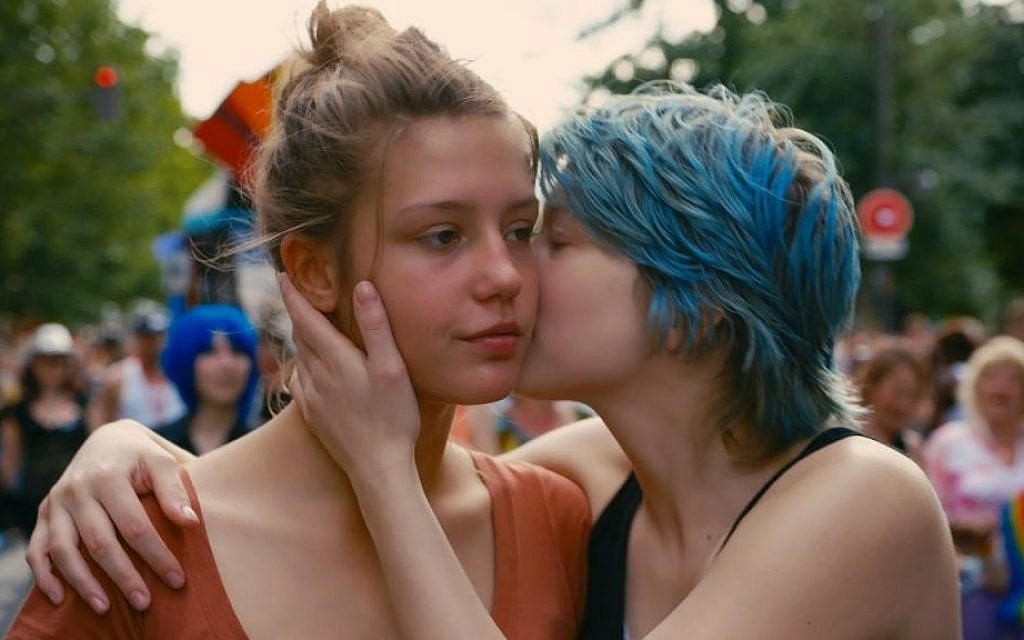 A still from 'Blue is the Warmest Color' (photo credit: IFC films)