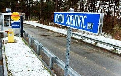 Headquarters of Boston Scientific, a heavy investor is Israeli biotechnology (photo credit: courtesy)