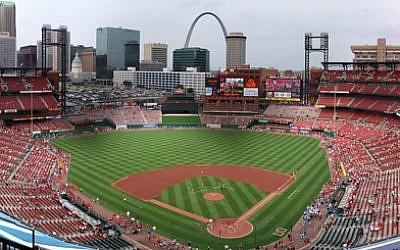 Busch Stadium, St. Louis, Missouri (photo credit: Kevin Ward/Wikimedia Commons)