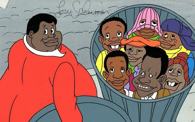 A scene from 'Fat Albert' (photo credit: http://wall.alphacoders.com)