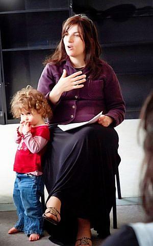 Rebbetzin Chana Carlebach teaching at BMC Seminary (photo credit: Courtesy of DLI Productions)
