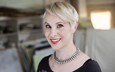 Author Eve Harris (photo credit: Karolina Urbaniak)