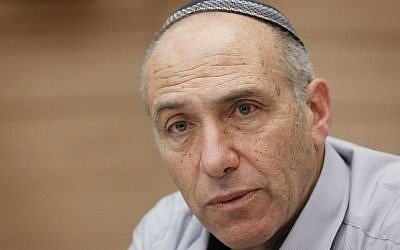 MK Moti Yogev of the Jewish Home party. (Miriam Alster/Flash90)