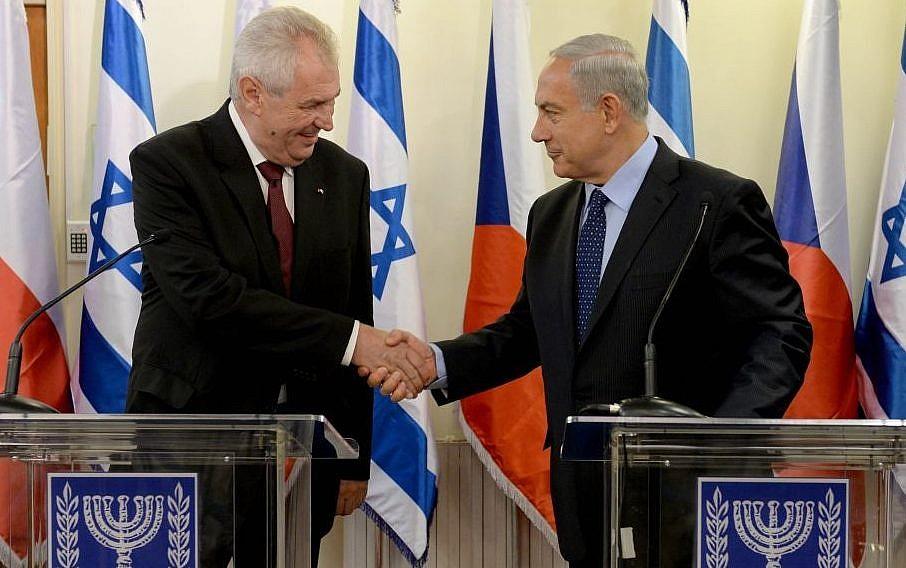 Nincs napirenden a cseh nagykövetség Jeruzsálembe költöztetése