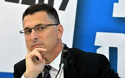 Gideon Sa'ar at a recent press conference. (photo credit: Yossi Zeliger/Flash90)