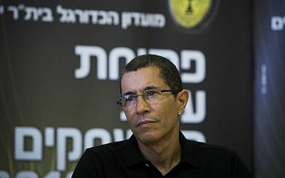 Owner of Beitar Jerusalem Eli Tabib (Yonatan Sindel/Flash90)