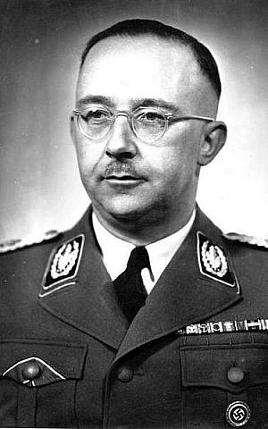 Heinrich Himmler (photo credit: Friedrich Franz Bauer/Wikipedia Commons)