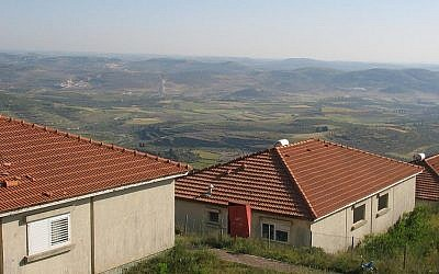 The settlement of Homesh in December 2005. (photo credit: CC BY Neria Harua/Wikipedia)