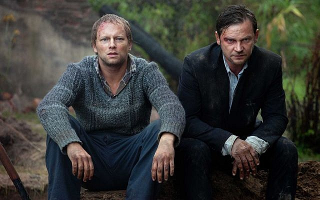 Brothers Franeck and XXX in Polish film 'Aftermath' (photo credit: courtesy)