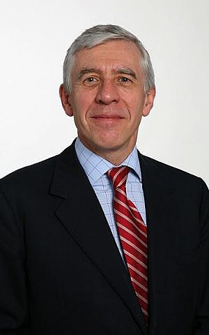 Jack Straw (photo credit: Ministry of Justice, UK / Wikipedia Commons)